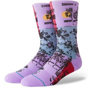 STANCE SOCKS NEW Men/'s Dazed Socks Pink BNWT
